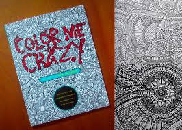 GIVEAWAY COLOR ME CRAZY COLORING BOOK BY PETER DELIGDISCH