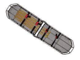 Ferno Stair Chair Model 48 by Ferno Traverse Titan Basket Stretcher Titanium