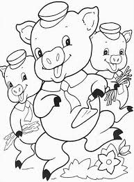 Does Your Child Like The Classic Fairy Tale Story Of Three Little Pigs Check Out 10 Free Printable Coloring Pages Which Are Fun For Kids