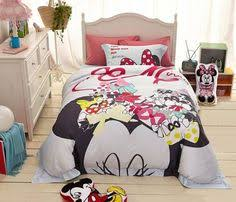 Minnie Mouse Queen Bedding by Minnie Mouse And Daisy Duck Cartoon Bedding Set Many Sizes