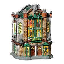 Dept 56 Halloween Village List by Amazon Com Department 56 Snow Village Zeldas Wax Museum Home