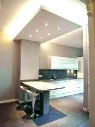 plafond de cuisine lumiere plafond cuisine eclairage distance spot encastrable plafond