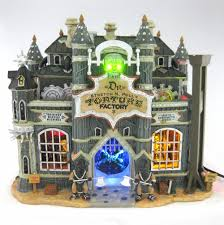 Lemax Halloween Village 2017 by Lemax Spooky Town Torture Factory Lighted U0026 Animated Building W