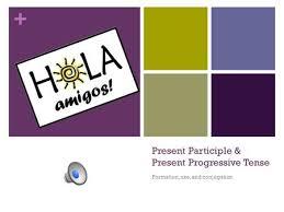 Present Participle Progressive Tense Formation Use And Conjugation