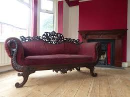 100 Boudoir Sofa STUNNING Victorian Style Parlour LOVE SEAT Hand Carved