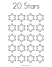 Number Fresh Coloring Pages Numbers 1 20