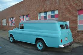 100 Chevrolet Panel Truck Check Out This 1955 Van With 600 Hp Of Duramax Power