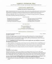 Executive Secretary Resume Assistant Free Samples Of Senior Administrative