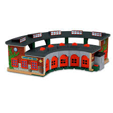Tidmouth Sheds Wooden Roundhouse by Mattel Y4366 Deluxe Roundhouse Thomas U0026 Friends Wooden Railway