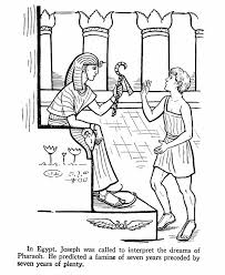 Bible Joseph Lovely Story Of Coloring Pages