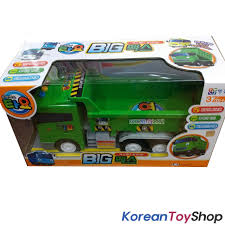 Little Bus Tayo BIG MAX Model Dump Truck Green Sound Effect Friction ...