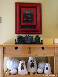Halloween Decor More Black White And Red Ideas