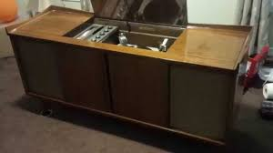 Magnavox Record Player Cabinet Astro Sonic by Electrohome Kalmar Console Stereo Receiver Video 60 Completed