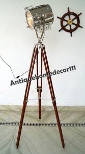 Surveyor Floor Lamp Tripod by Lamps Electric Lamps Lighting Collectibles