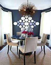 Navy Dining Room Extraordinary Blue Rooms On Metal Chairs With