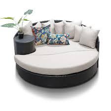 Semi Circle Patio Furniture by Patio Furniture Newport Beige Circular Outdoor Patio Sofacircular