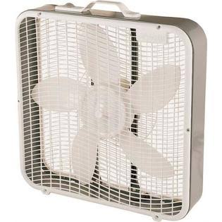 Camair Energy Efficient Design and Carrying Handle Box Fan - 3 Speed, 20""