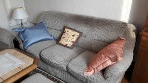 sitzmöbel wohnzimmer 3er und 2er sofa