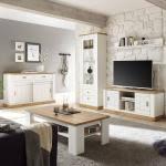 weiße wohnzimmer sets günstig kaufen ladenzeile