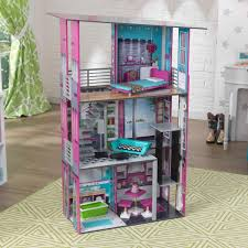 Plum Plaza Wooden Dolls House Barbie Doll House Price 100