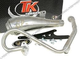 pot echappement turbo kit tk gp scooter 4t 50cc honda zoomer 50cc jpg