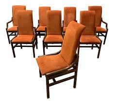 1970s Vintage Henredon Walnut Dining Chairs- Set Of 8 Henredon Ding Table W 2 Leaves Loveseat Vintage Mid Century Modern Tables Updated Prodigal Pieces Outstanding Room Fniture Ideas Sold Set 6 Chairs And Oval Table With Leaves Very Good Cdition From Mara Home Of Permanently Closed Mahogany Room Ideas Ralph Lauren Graham Club Armchair Navy Blue Leather And Chairs Overwhelming Campaign Best Ipirations For Decor Viyet Designer Claw Stunning Stamped 8 Walnut