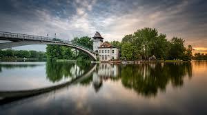100 Water Bridge Germany Wallpaper Berlin River Bridge Boats Houses