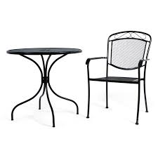 Wrought Iron, Table And Chair, Bistro Black | Event Rentals In ... Outdoor Fniture Alpharetta Wicker Wrought Iron Table With 36 Round Top And Chair Bistro Black Event Rentals In Home Shop 100 Styles For Every Room Crate Barrel Patio Design Specialist American Casual Living Vintage Mid Century Modern Rattan Hoop The Ritzcarlton Atlanta Ga Jsetter Console Made From Parisian 1880s Wughtiron Balcony Custom Stone Four Hands Powell 55 Ding Used Garden Chairish Kiersten