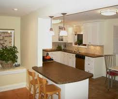 For Small Kitchen Design And Large Interiors The Possibility To Seat More People Is A Plus