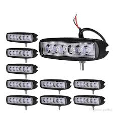 Waterproof Super Bright 18w Flood Spot Combo Cree Led Light Bar ... 3 Inch Round 12w Led Fog Light Tractor 6000k Spot Xuanba 6 70w Cree Led Work For Atv Truck Boat Amazoncom Chevy Silverado 99 02 Tahoe Suburban 00 05 0405 Ford Ranger Pickup Set Of Lights Everydayautopartscom Driver And Passenger Lamps Replacement For 18w Car Styling Driving Fog Light Lamp Offroad Car Pickup Morimoto Xb Ram Vertical Winnipeg Hid Front Bumper Spot Lamp Nissan Navara D40 01 03 04 06 Toyota Tundra Universal 70mm Fogs Complete Housings From The