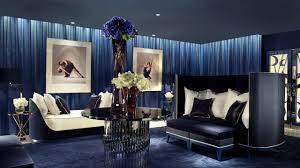 2560x1440 Wallpaper Living Room Hotel Furniture Interior Flowers Paintings Sofas