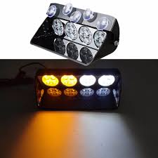 High Power 16LED Car Police Strobe Light Truck Emergency Dash ...