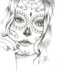 Sugar Skull Coloring Book Walmart Pages Free Download Pdf