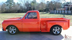 100 Chevy Truck 1970 Chevrolet Hugger Orange Custom C10 Pickup