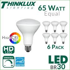 lighting 65w equivalent day light br30 non dimmable led flood