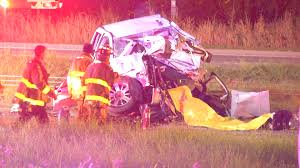 1 Dead, 2 Injured After Woman Speeds Head-on Into Construction Truck ...