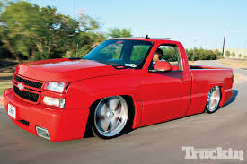 2007 Chevy Silverado - Imitator SS - Static Drop - Truckin Magazine