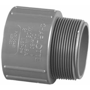 Charlotte Pvc Schedule 80 Male Adapter - 1/2""