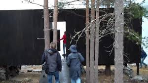 100 Rintala Eggertsson Architects Lake Seljord Smoke Sauna Project