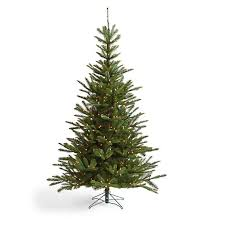 Artificial Fraser Fir Christmas Tree Sale by Pre Lit Noble Fir Artificial Christmas Tree Grandin Road