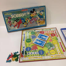 Disney Sorry Classic Board Game