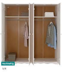 landhausstil schrank kinder schlafzimmer holz weiß kleiderschrank