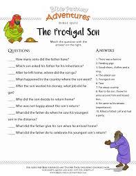 Project Description Enjoy Our Free Bible Quiz The Prodigal Son
