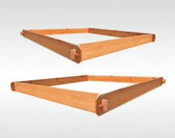 2 Cedar RAISED GARDEN BEDS 3x6 & 6x6 Raised Planters
