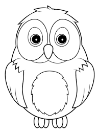 Click To See Printable Version Of Cute Owl Coloring Page