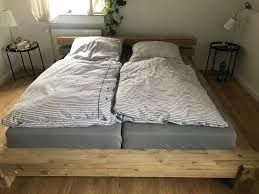 doppelbett inkl lattenrost und matratzen in nordrhein
