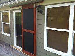 Built A Sliding Screen Door! - The Garage Journal Board | Home ... Double Sliding Barn Doors Master Bath Entrance With Our Antique Door Hdware How Haing Remodelaholic 35 Diy Rolling Ideas To Build Youtube Bathrooms Design Amazing Bathroom For To Hang The White Stained Wood On Black Rod Next Track Lowes Everbilt How And Hdware For Haing A Sliding Barn Door Fniture External By Elise Blaha Cripe Epbot Make Your Own Cheap Pretty Distressed
