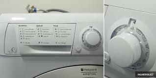lave linge hotpoint 10 kg hotpoint ariston haf 921 sfr test complet lave linge les