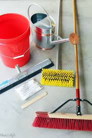Rocksolid Garage Floor Coating Instructions by Diy With Style How To Apply Rocksolid Metallic Garage Floor