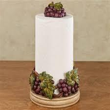Grape Harvest Paper Towel Holder